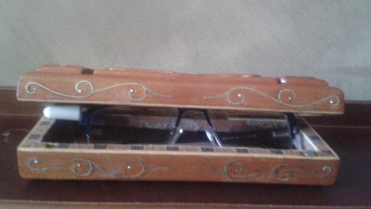 Custom made glasses case
